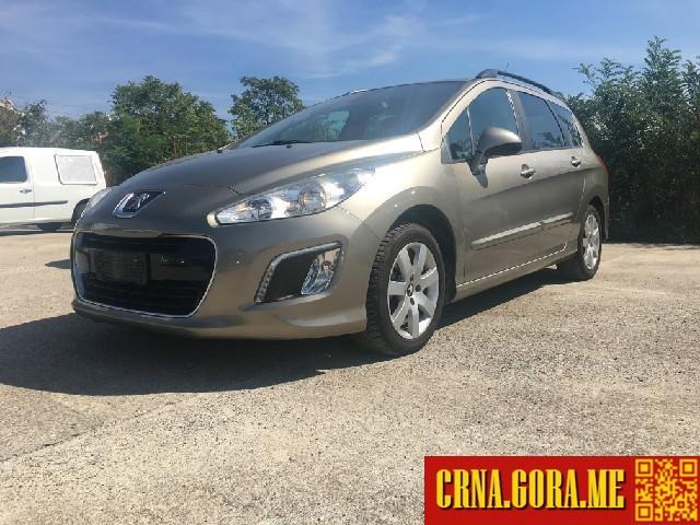 Prodajem Auto Peugeot 308 16hdi Automatik 2012 Godište Podgorica