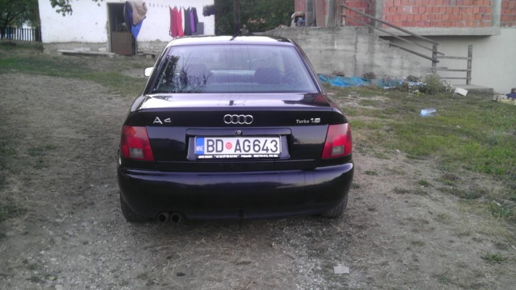 Audi A4 1.8 Turbo 1995 Odlično stanje Prijepolje - Vozila - Crna Gora